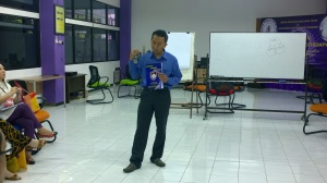 Pemandu pelatihan ECH 2 - Drs. Asep Haerul Gani, Psikolog