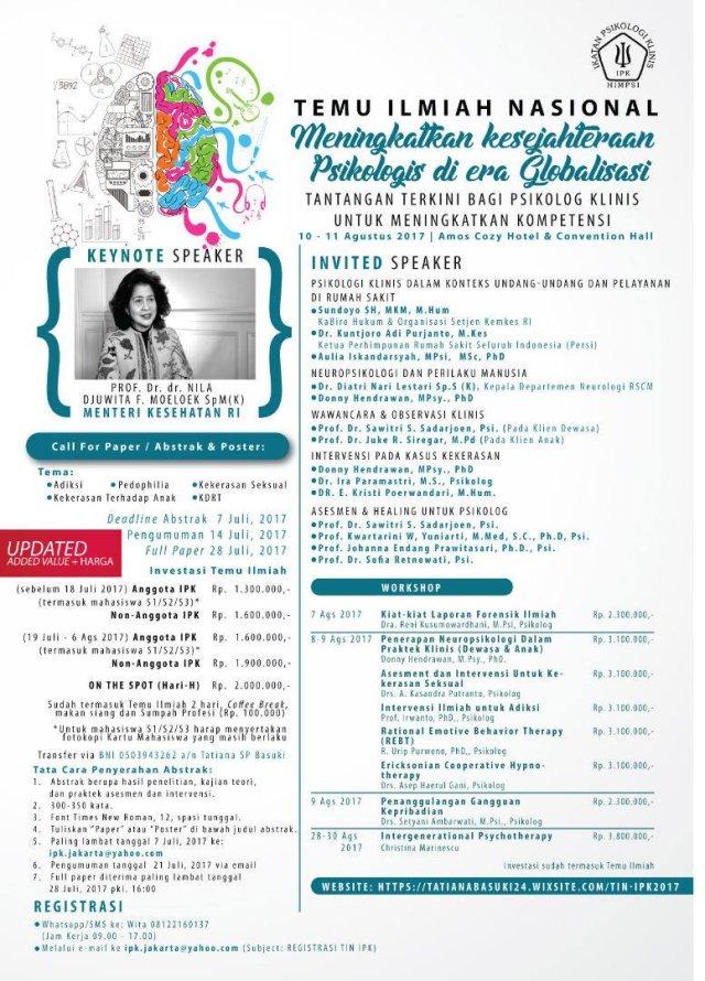Info Tinas IPK 2017